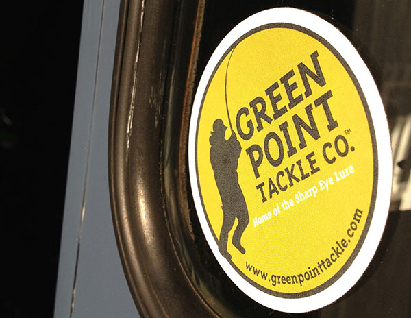 Greenpoint Tackle sticker